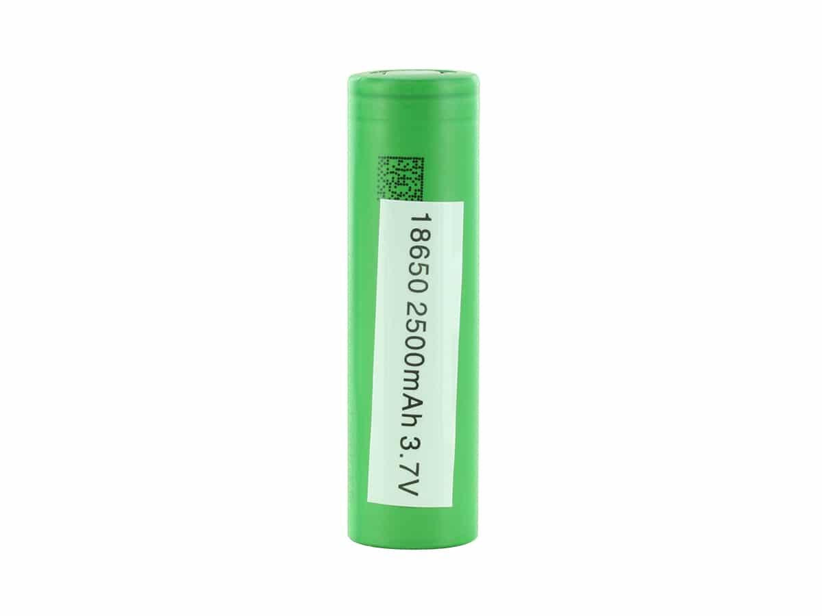 sony battery 2500mah 3.7v