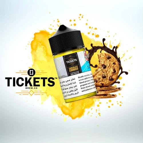 Chocolate Cookies - Tickets Brew