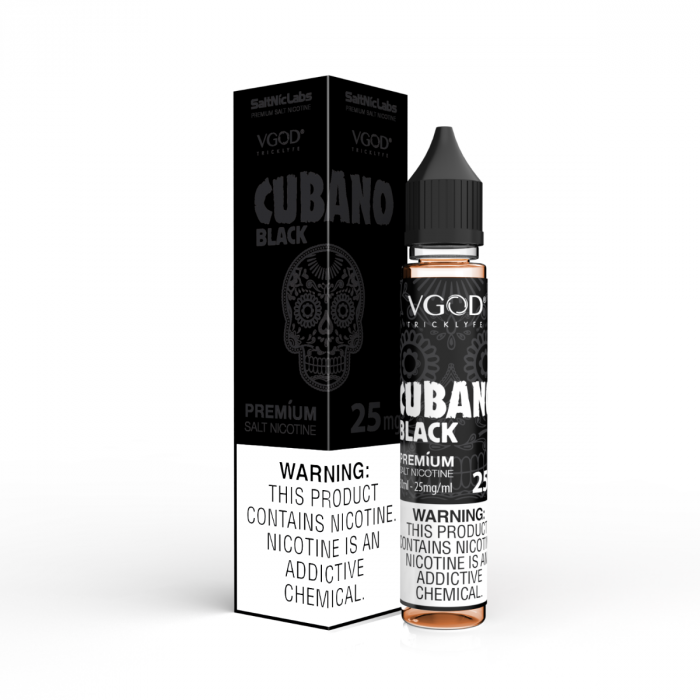 Cubano Black by VGOD Salt Nic