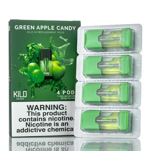 Kilo 1K Green Apple Candy