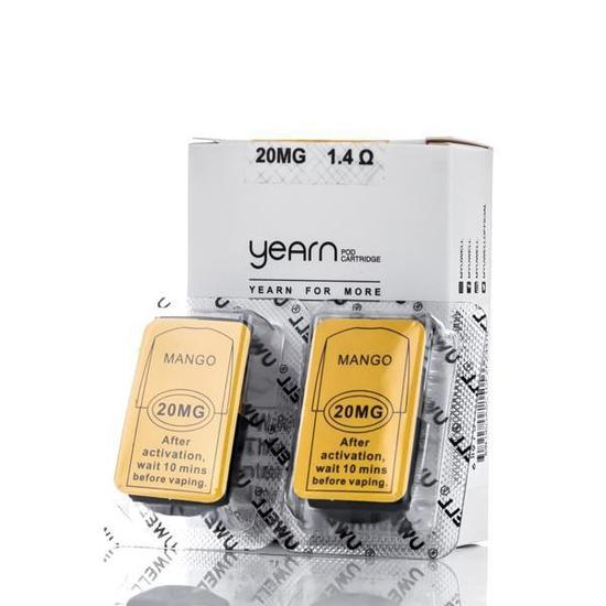 Uwell Yearn Mango 2 pods per packet