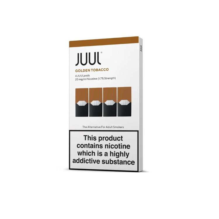 Golden Tobacco Pod by JUUL UK