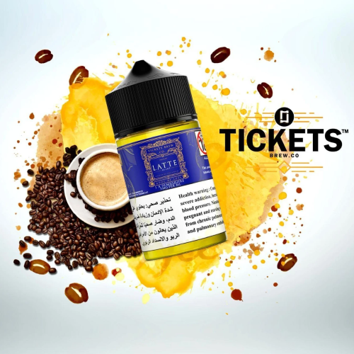 Latte - Tickets Brew