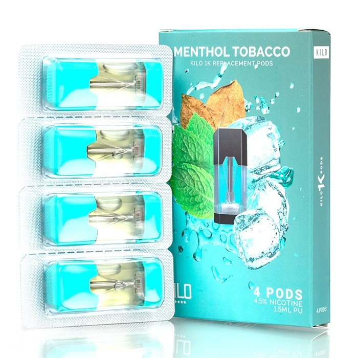 Kilo 1K Menthol Tobacco