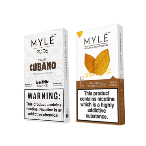 Myle Tobacco Bundle of 5