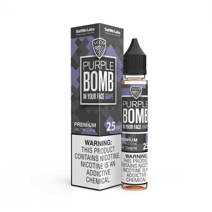 Purple Bomb by VGOD SaltNic