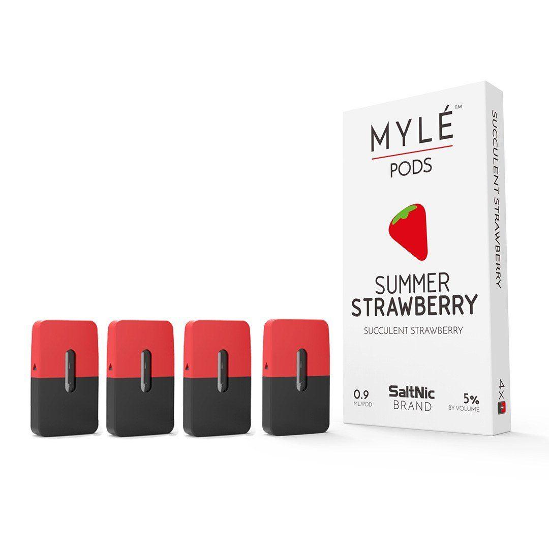 Myle Summer Strawberry by Salt Nic