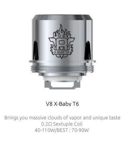 Smok V8 X Baby T6