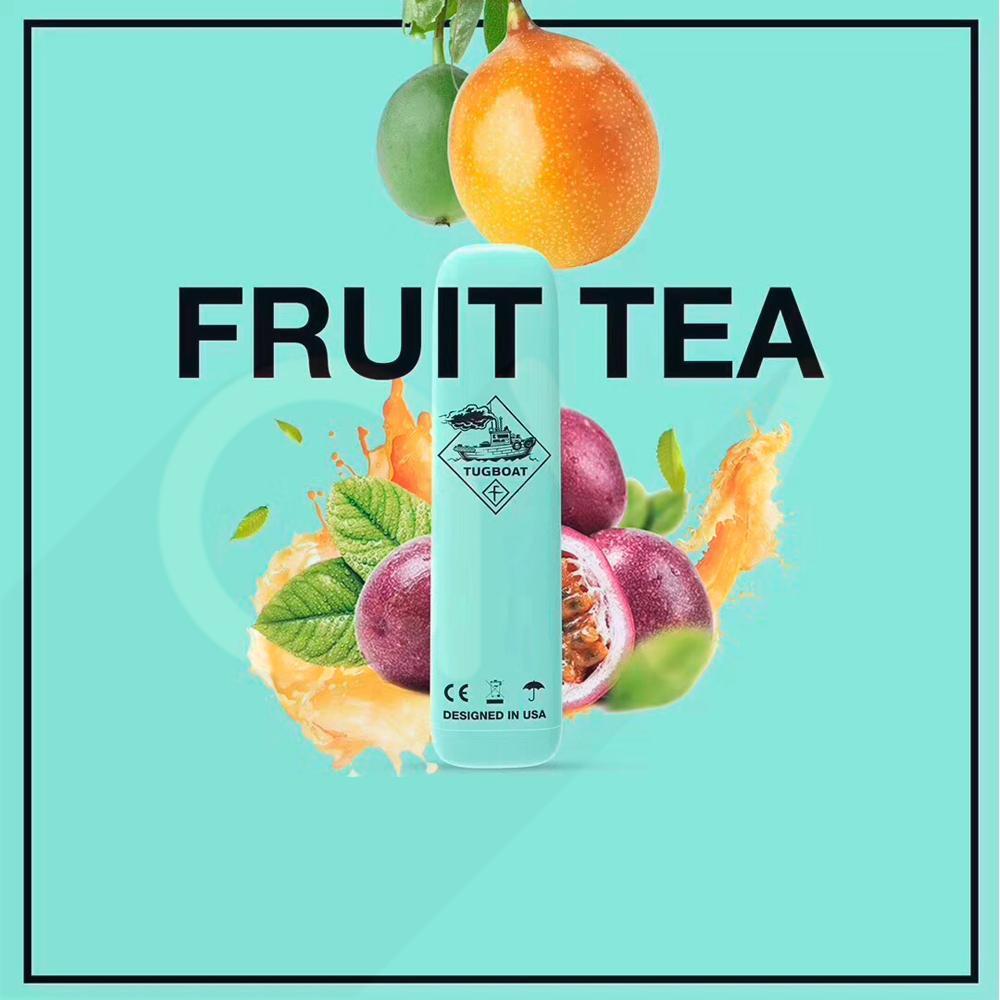 Tugboat Fruit Tea disposable pod device