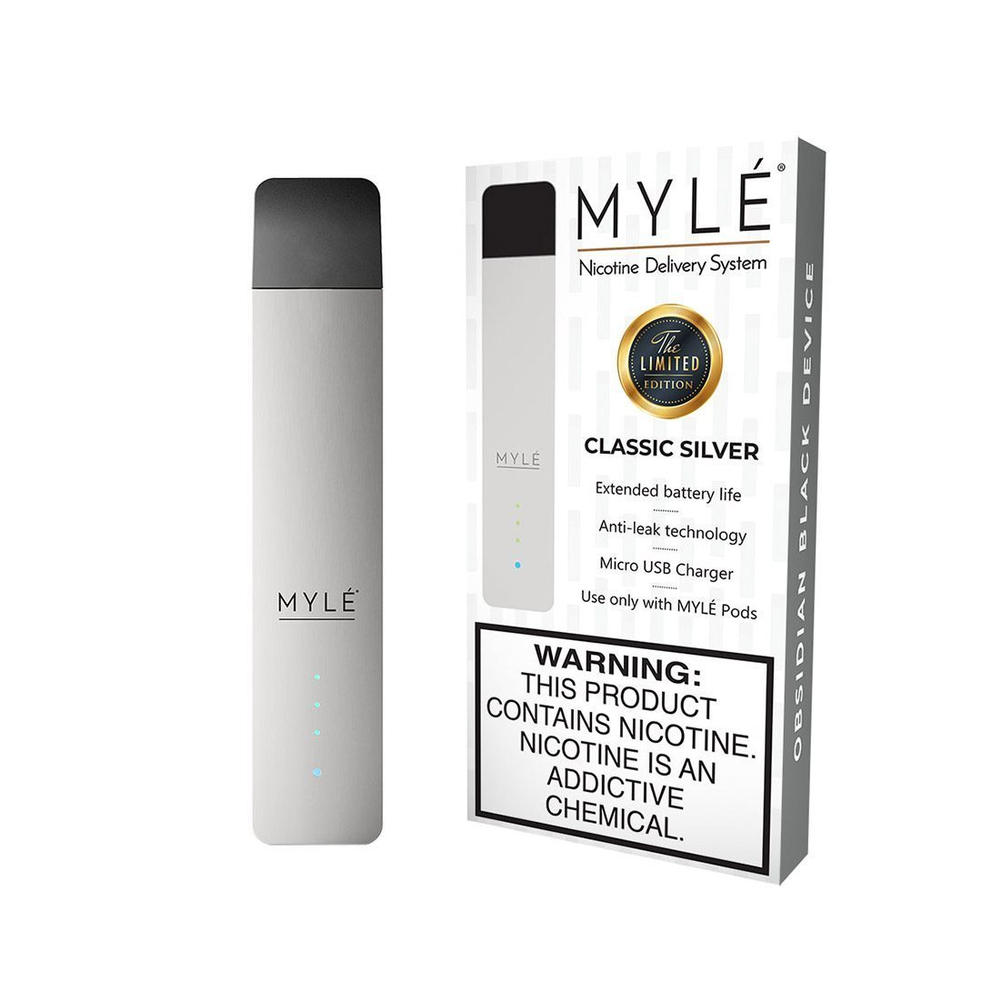 MYLÉ Magnetic Device - Classic Silver