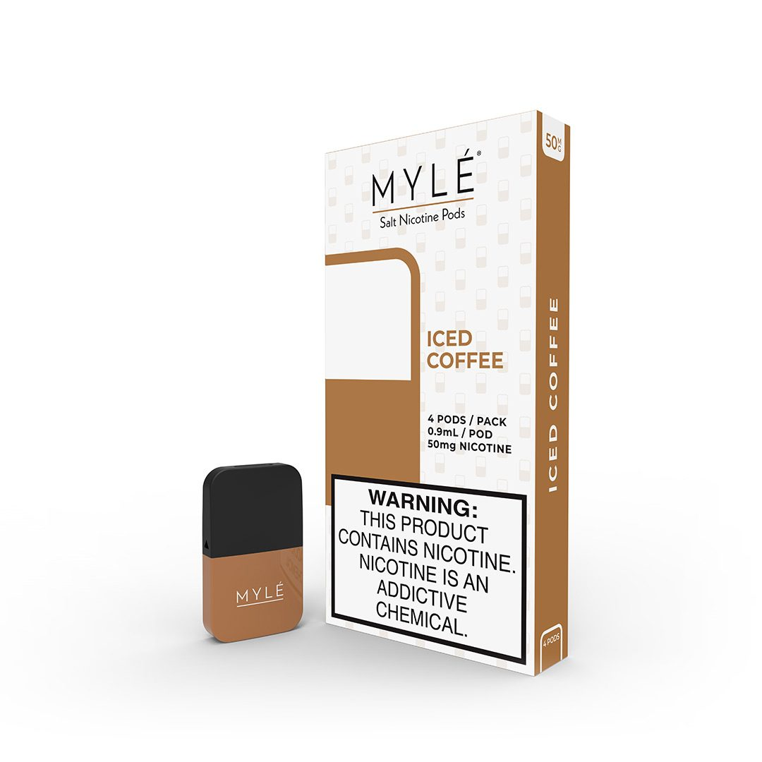 myle iced coffee