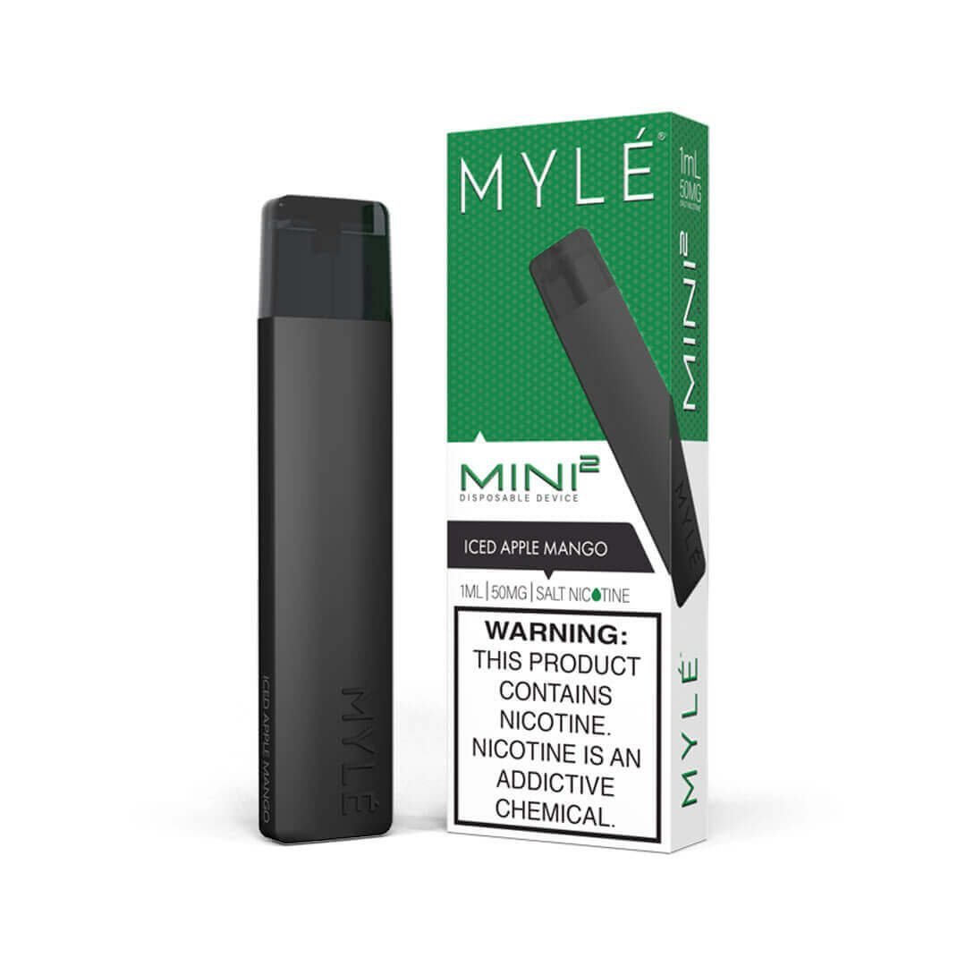 myle mini 2 iced apple mango