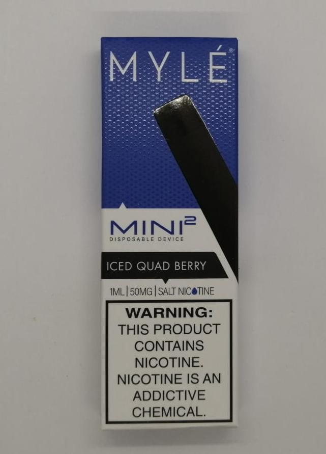 myle mini 2 quad berry